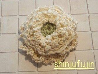【Sold】お花畑のコサージュ31の画像