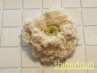 【Sold】お花畑のコサージュ32の画像