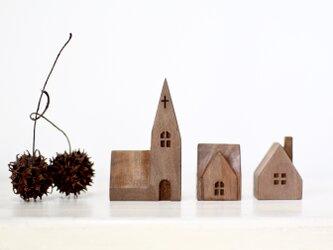 小さな木の家 ー教会56ーの画像