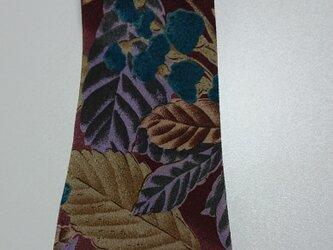 着物生地 ネクタイ 柄物 ポリエステルの画像