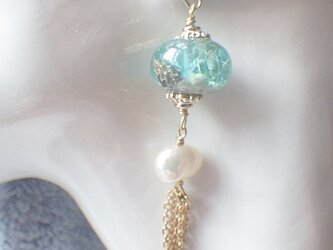 Jellyfish and Water Pearl ピアス/イヤリング 浅瀬の画像