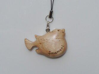 河豚のストラップ №3の画像