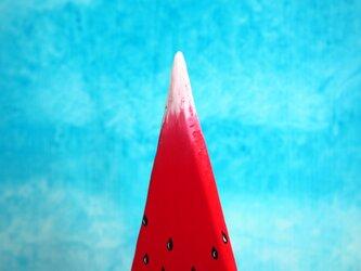 赤富士西瓜の画像