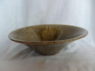 陶器 中鉢 ビードロ釉 高台なしの画像