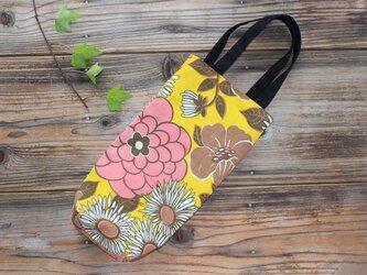 リメイク*レトロな花柄の縦長バッグの画像