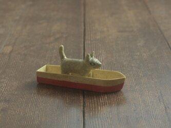 犬舟◦出来人形◦犬◦舟◦190720の画像