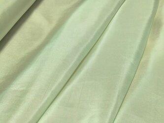 正絹 羽二重 胴裏地 はぎれ【薄い水色】50cmの画像
