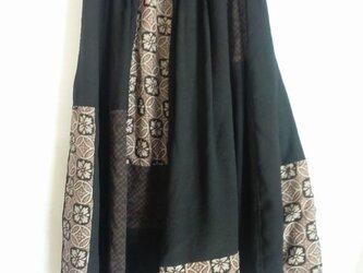 着物リメイクスカート  1388の画像