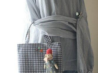 お人形付きBAG(ピンク帽子)の画像