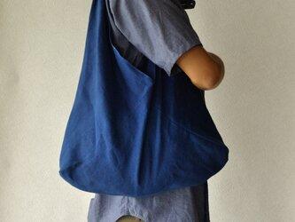藍染あずま袋(無地)の画像