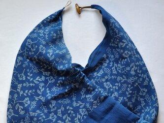 藍染あずま袋(七花)の画像