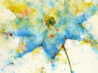 Flower 18 (額縁付き)の画像