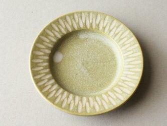 リム付豆皿 イェローの画像