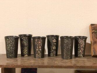 Kさまご注文品 [Kakiotoshi cup ]ー 6客の画像