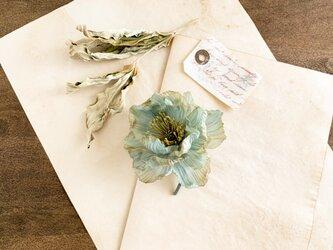 corsage : Antique ポピー  (ブルー系)の画像