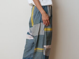 【NEW】nica pants HOSO cottonの画像