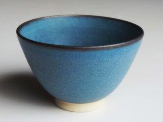 深海ブルー飯碗の画像