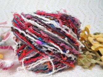 33♪花hana花♪変わり糸引き揃え85g2玉の画像