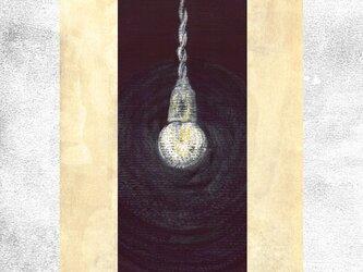 『裸電球』 ポストカード 2枚セット 絵柄変更可の画像