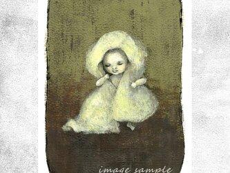 『ふわふわタオル』 ポストカード 2枚セット 絵柄変更可の画像