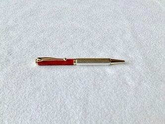 錫のボールペン カスタム Redの画像