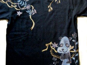 夢見るパンダの150センチ黒シャツ 特別セールの画像