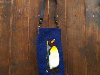 ペンギンのペットボトルホルダーの画像
