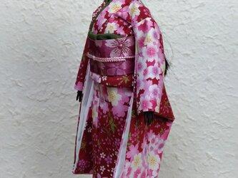バービー着物 花香の妖精の画像