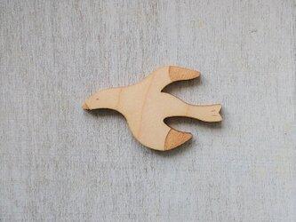 空のかもめ・メイプルのブローチの画像