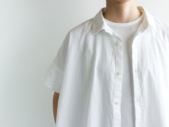 cf7f11a5a8dfa weather cloth cotton linen/short sleeve shirt one piece/white