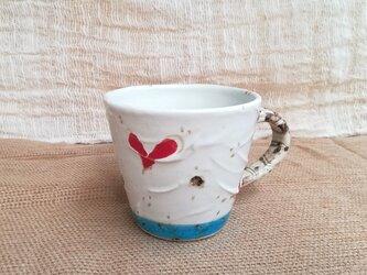 ハート柄マグカップ2の画像