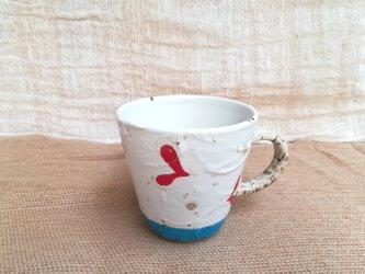 ハート柄マグカップ3の画像