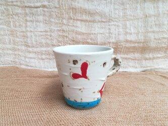 ハート柄マグカップ(小さめ1)の画像