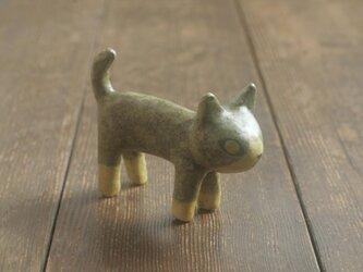 猫◦出来人形◦立◦190727の画像