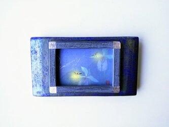 「蛍」 日本画【額縁入り】の画像