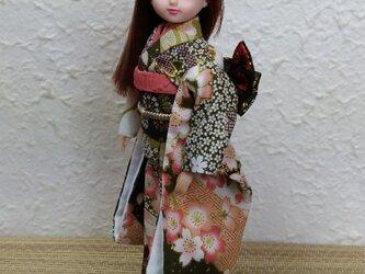 リカちゃん着物 花見里の画像