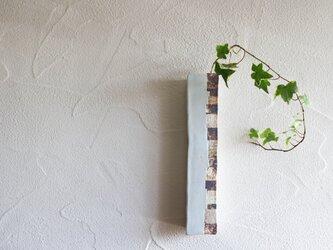 白釉ロング掛花の画像