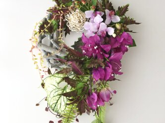 Wild flower wreath IIIの画像