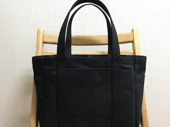 「混合トート」通勤トート 帆布トートバッグの画像
