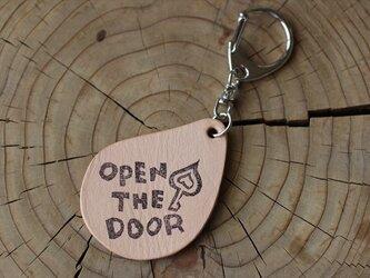 OPEN THE DOOR キーホルダーの画像