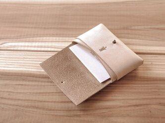 【受注生産】card case/ivoryの画像