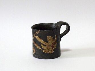 マグカップ(金銀彩ゆり)の画像