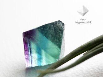 八面体フローライトの原石(大)(グラデーションタイプ)の画像