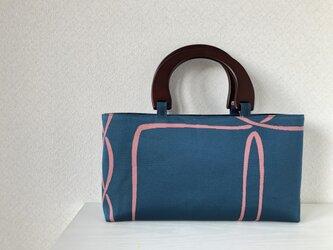 帯バッグ〜ブルー〜の画像