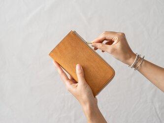 革の財布L Desertの画像