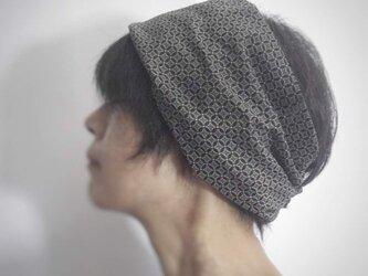 ターバンなヘアバンド プチフルール 送料無料の画像