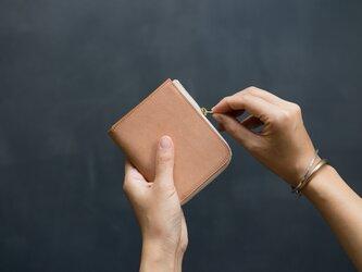 革の財布S Desertの画像