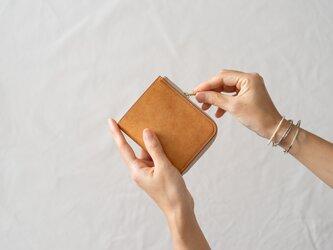 【受注製作】革の財布S Desertの画像