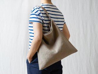 Holiday bag タンベージュの画像