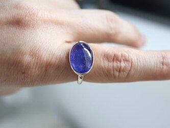 K10 青紫のflower タンザナイト ringの画像